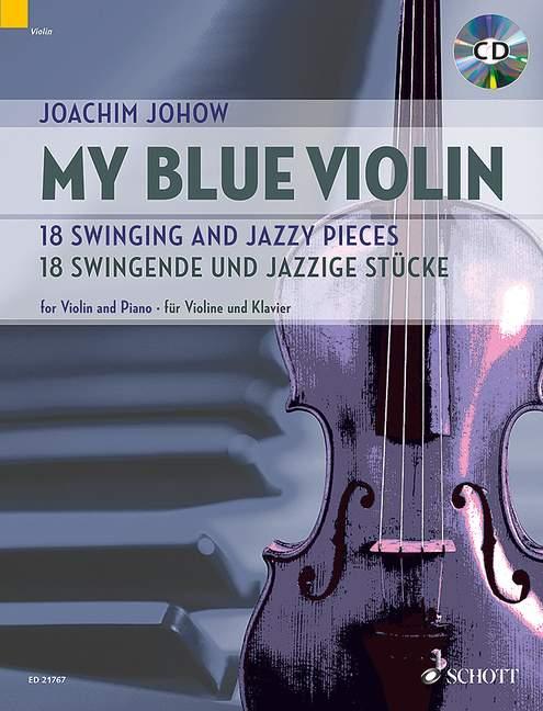 My Blue violin image